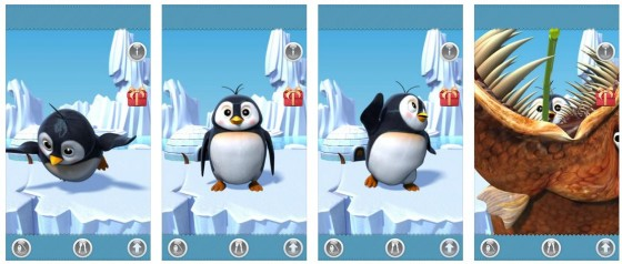 Niedlich: Der sprechende Pinguin Gwen