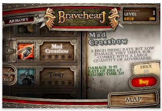Braveheart für iPhone und iPod Touch