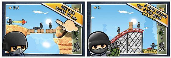 Fragger Desert Strike Screenshot