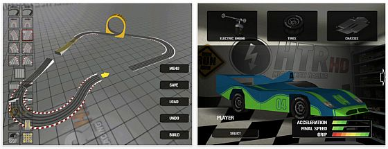 High Tech Racing - Slotcar auf iPhone, iPod Touch und iPad Screenshots
