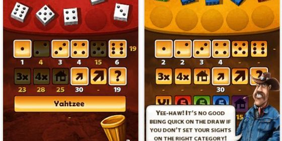 Yahtzee Adventures Screenshot