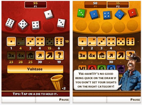 Yahtzee Adventure (Kniffel für iPhone und iPod Touch) Screenshot