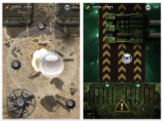 Screenshot Dark Nebula für iPhone und iPod Touch