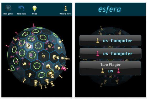 Esfera für iPhone und iPad Screenshot