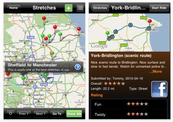 Greatest Road App Screenshots