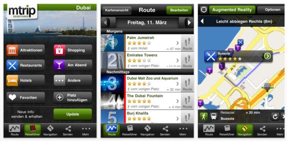 Screenshots mTrip Dubai Travel Guide für iPhone und iPod Touch