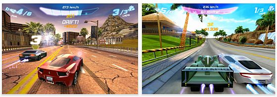 Gameloft Asphalt 6 iPhone App Screenshots