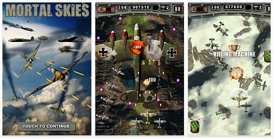 Mortal Skies Screenshot iPhone App