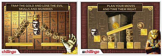 Mummys Treasure Screen
