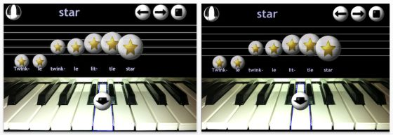Piano Bells Screenshot