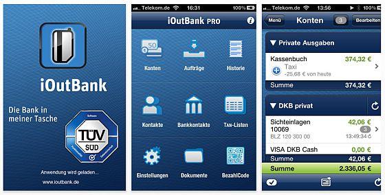 iOutBank Pro Screenshot