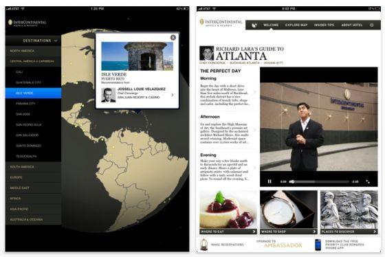 Concierge Insider Guide für das iPad Screenshot
