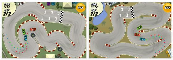Draw Race App für iPhone und iPod Touch Screenshots