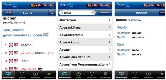 Linguadict Pro Screenshots