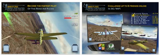Breitling Reno Air Race App
