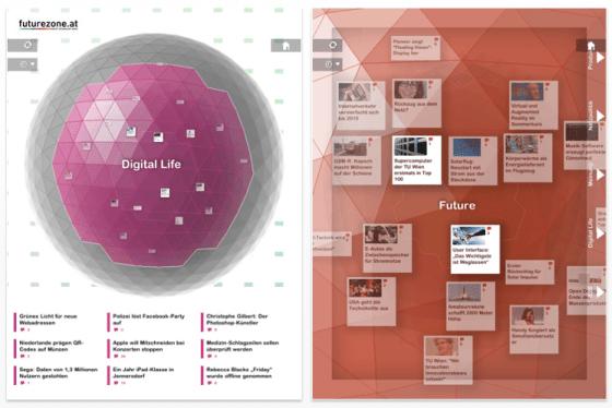 futurzone Nachrichten-App für Technologie-News