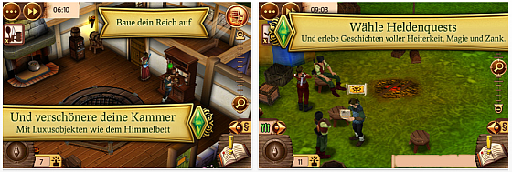Die Sims Mittelalter Screenshot