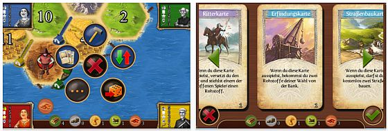 Catan für iPhone Screenshots