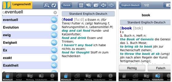 Langenscheidt Wörterbuch Deutsch-Englisch
