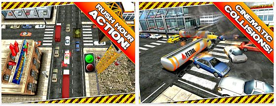 Traffic Panic 3D für iPhone und iPod Screenshots