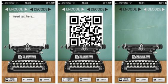 The QRCode Machine Screenshots