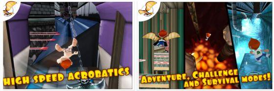 Running Fred Universal-App Screenshots