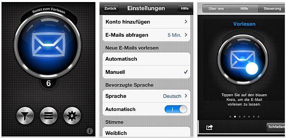 Listen2Mail Screenshot