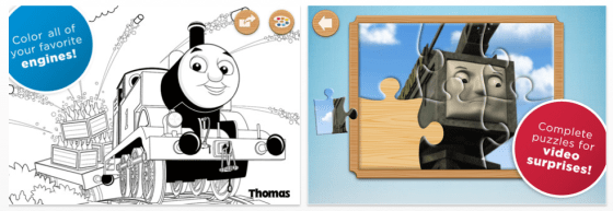 Thomas & Friends Engine Activities