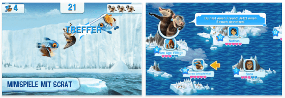 Ice Age: Die Siedlung für iPhone, iPod Touch und iPad Screenshots