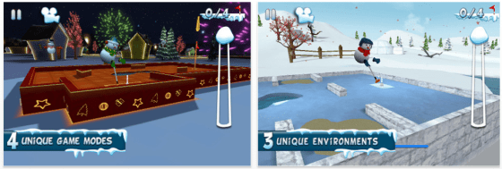 Mini Golf 3D für iPhone und iPad Screenshots