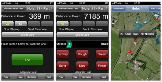 Golf Entfernungsmesser Iphone App : Die reduzierten deutschen apps für heute golf entfernungsmesser