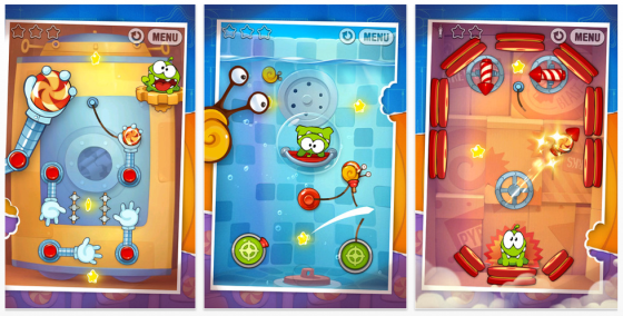 Cut the Rope Experiments Screenshots
