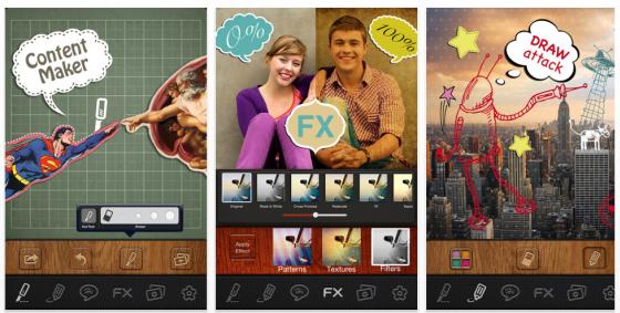 PicSee Pro Bildbearbeitung für iPhone und iPad Screenshots