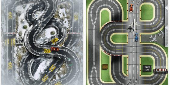 Slot Racing HD für iPad - Screenshots