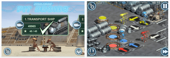 Star Wars Pit Droids Screenshots