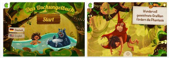 Das Dschungelbuch für iPhone und iPad - Screenshots