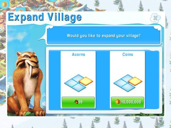Ice Age die Siedlung - Screenshot