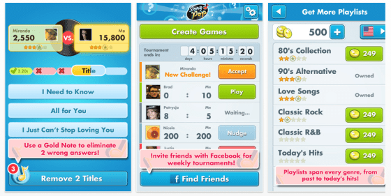 Song Pop App für iPhone und iPad