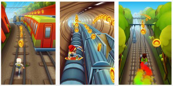 Subway Surfers für iPhone, iPod Touch und iPad