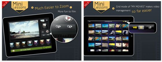 Movie360 App für iPhone und iPad Screenshots