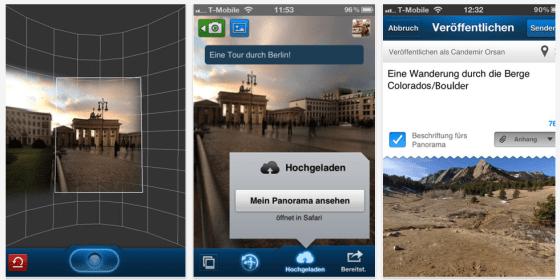 360 Panorama für iPhone, iPod Touch und iPad