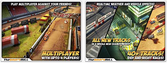 Mini Motor Racing HD Screenshots