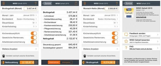 Wiso Gehalt 2015 Screens