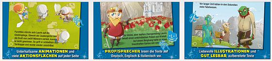 König Laurin und sein Rosengarten Screenshots