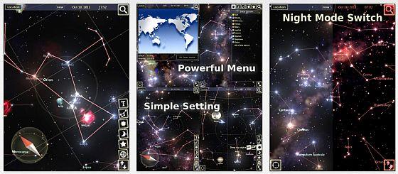 StarTracker HD Screenshots