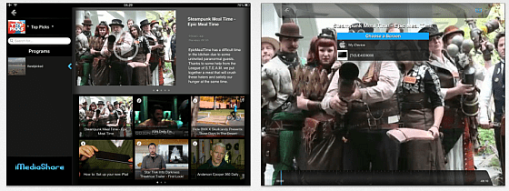 iMediaShare Screenshots