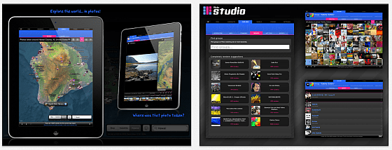 Flickr Studio Screens