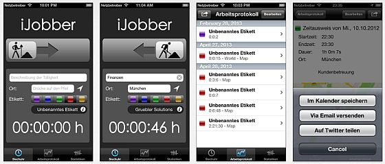 iJobber Screenshot