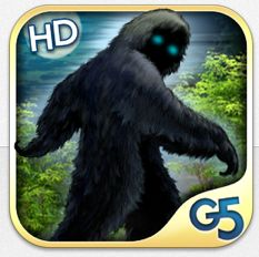 Wimmelbildspiel für iPhone und iPad Bigfoot Hidden Giant in Vollversion kurze Zeit gratis