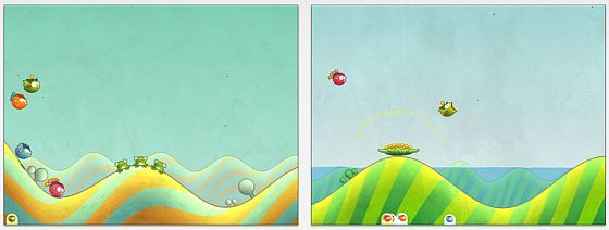 Tiny Wings HD Screenshots